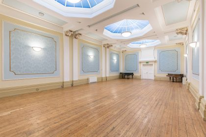 Faversham Assembly Rooms - Interior Photography