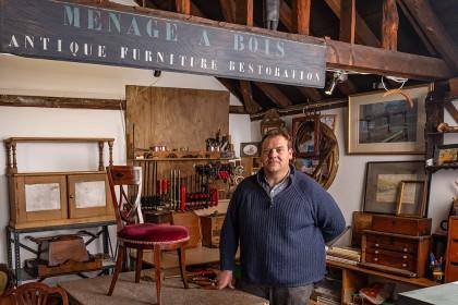 Portrait Photography - Faversham Furniture Restoration