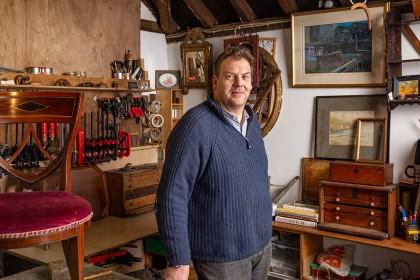 Portrait Photography - Antique Furniture Restoration