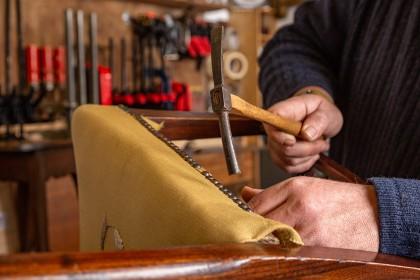 Lifestyle Photography - Antique Furniture Restoration