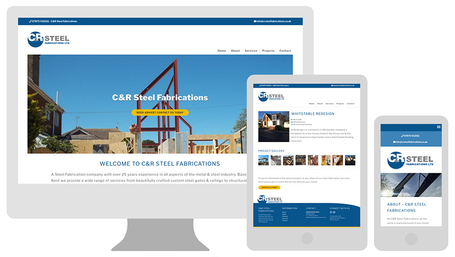 Wordpress Web Design for the Construction and Building Trades