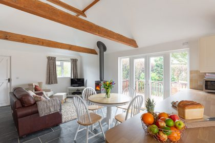 Interior Photography - Kent Holiday cottage - Dining area