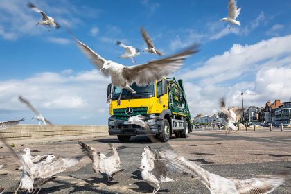 Photography - Skip Lorry - Thanet Waste Services - Herne Bay, Kent