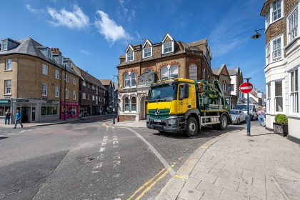 Photography - Skip Lorry - Thanet Waste Services - Whitstable, Kent