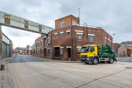 Photography - Skip Lorry - Thanet Waste Services - Faversham, Kent