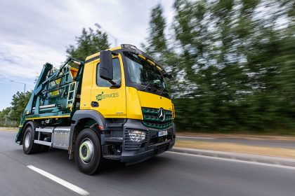 Photography - Skip Lorry - Thanet Waste Services - Ramsgate, Kent