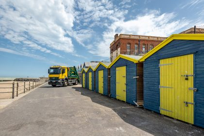 Photography - Skip Lorry - Thanet Waste Services - Margate, Kent
