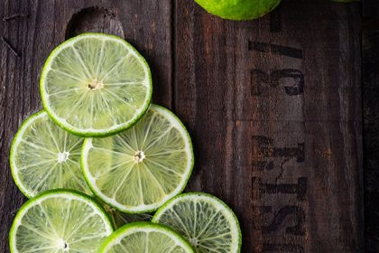 Studio Food Photography - Limes - Faversham