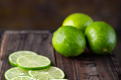 Studio Food Photography - Limes