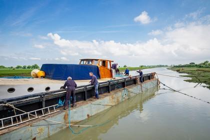 Gardner Engines - Iron Wharf Boatyard, Faversham